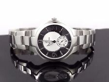 Philip Stein 43MBSS Signature Novelties Black & Silver Dial Men's Watch