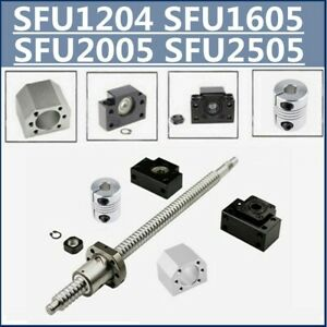 BallScrew SFU1204 SFU1605 SFU2005/2505 End Machine&BK/BF10/12/15&Housing+Coupler