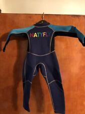 Childs Natyfly Full Wetsuit Size XS Toddler Boy