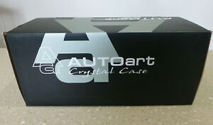 1/18 AUTOart Crystal Display Case. Excellent in original packing 90001.