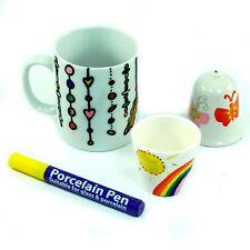 Hobby Line porcelaine et verre Stylo Paillettes Carmine red 16505
