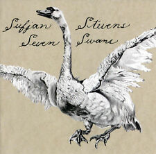 """Sufjan Stevens Seven Swans 140gm Vinyl LP Record & 7"""" with non album songs! NEW!"""