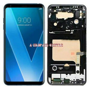 For LG V20 V30 V35 ThinQ LCD Touch Screen Display Digitizer Replacement W/Frame