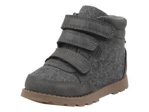Carter's Toddler Boy's Cass Grey Boots Shoes Sz: 10T