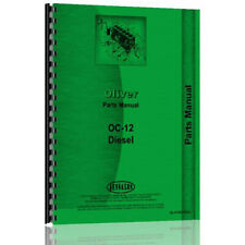 Crawler Parts Manual For Oliver Oc 12