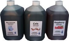 Slushie Slush Slushy Slushee Granite Syrup mix  1 carton of 3x4 Litres