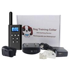 Anti-Bark Perro collar de adiestramiento Control Remoto Vibración Choqu L-168 ES