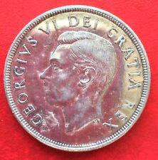 1948 Canada Silver Dollar $1 Coin