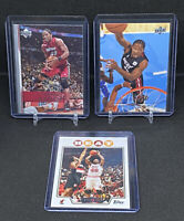 (3) Card Lot Udonis Haslem Miami Heat 07-08, 08-09 Upper Deck 2008 Topps