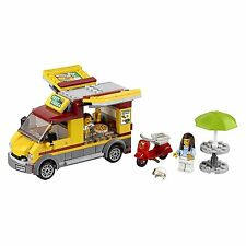 LEGO City Great Vehicles Pizza Van Food Truck & Moped Building Set Kit | 60150