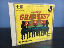 *** J.LEAGUE GREATEST ELEVEN NEC PC-ENGINE HUCARD JAP ***