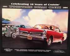 2004 Woodward Dream Cruise Poster