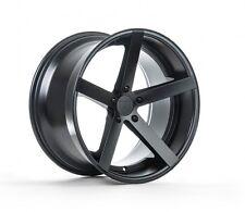 22x9 +30 Rohana RC22 5x120 Matte Black Concave Wheels For BMW X5 3.0 4.4 2007 Up
