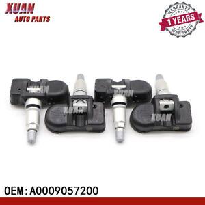 4x A0009057200 Tire Pressure Sensor For Mercedes-Benz C250 C350 CL550 E250 E400