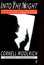 Into the Night-Cornell Woolrich & Lawrence Block-UK First Edition/DJ-1988