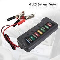 Testeur Universel 12V Batterie Alternateur Voiture Moto & 6 LED Clignotant CP