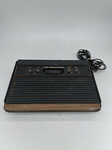 Atari CX 2600 A Video Game Console As Is or Parts Only (Read Desc)