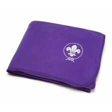 World Scouting Bedding Blanket Throw Purple Official Scout Uniform NEW