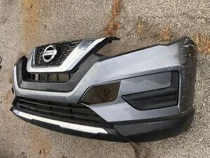 2017 2018 2019 Nissan Rogue Front Bumper Cover OEM 62022-6FL0H Gray Color