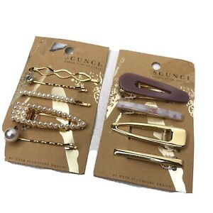 Scunci  Bobby Pins Salon Clips Hair Care Lot Of 2 Hair Accessories Gold Women