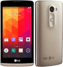 "LG Leon 8GB GOLD/GREY 4G *UNLOCKED* GPS Bluetooth 4.5"" Android Smartphone"