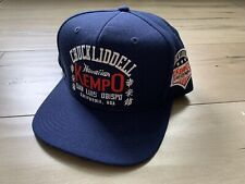 Roots Of Fight Chuck Liddell Kempo Hat Snapback NWT Navy