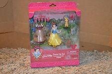 Disney Parks SNOW WHITE Princess Dress Up Fashion Playset NEW Castle PVC
