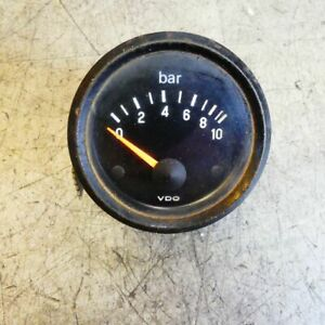 BMW K 75 Lt, K 1100 Lt, Rt Models Zusatzuhr Oil Pressure Defective Nl 30 37330