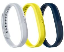 Fitbit Sport Band Set for Flex 2 Tracker, Large, 3 Pack (Navy/Gray/Yellow)
