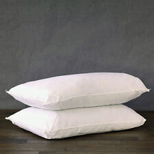 Deluxe Twin Pack of Pillow Extra Bounce Back Hollow Fibre Filling Size 50 X 75CM