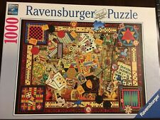 Ravensburger 1000 Piece Jigsaw Puzzle 'Vintage Games' 27 x 20 inches  #194063