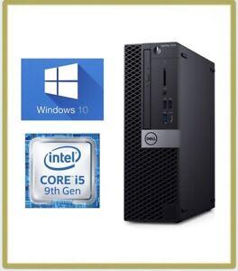 Dell Optiplex 7070 SFF Desktop PC, Hexa-Core (6) i5-9500 3GHz 8GB  256GB SSD 3A9