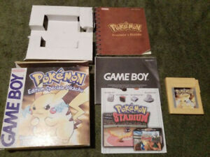 Pokémon  Version Jaune français complet état correct (Nintendo Game Boy, 1999)