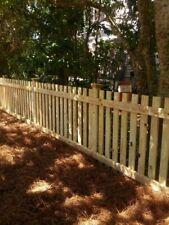 Wooden picket fence panels 180cm lengh 80cm high