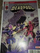 The Despicable Deadpool #289 Comic Book 2017 Legacy - Marvel