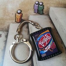 UNIQUE Handmade TWIGLETS KEYRING retro MARMITE snack 70's MIXED UP DOLLY