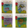 Mr Men Little Miss Small Plastic Kids Sandwich Lunch Box BPA Free  - 4 Designs