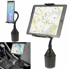 "Adjustable Car Cup Holder Mount for Apple iPad Mini Samsung Galaxy 7""-10"" Tablet"