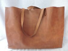 NWT MADEWELL EAST WEST LEATHER TRANSPORT TOTE BAG ENGLISH SADDLE WORK TRAVEL
