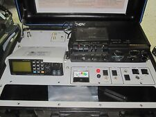 DTC Suitcase Covert Monitor Receiver  -  ICOM IC R100