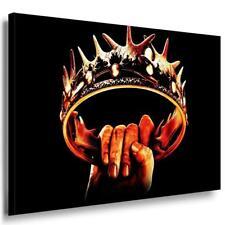 Game of Thrones Leinwandbild AK Art Bilder Mehrfarbig Wandbild Made in Germany