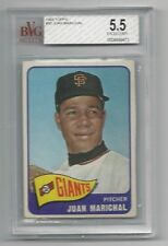Juan Marichal 1965 Topps Card, # 50,BVGS Excellent + 5.5, San Francisco Giants