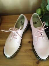 Dr. Martens 3 Eyelet Shoe Bubblegum Pink Virginia.Size UK 5