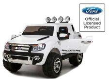 Childrens WHITE Ford Ranger 12V 4x4 Wildtrak Ride On Jeep Car Toy Kids 2 Seater