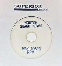 Norton Grinding Wheel 3 X 12 X 34 38a60 K5vbe Aluminum Oxide New