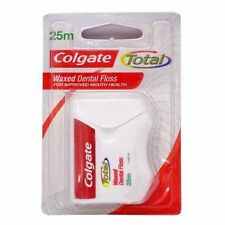 1 x Colgate Total Waxed Dental Floss 25mtr (27.3 yard) for Improved Mouth Health