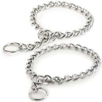 Choke Chain Dog Collar Selections - Steel Training High Quality Low Prices!