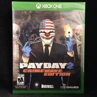 Payday 2  : Crimewave Edition (Microsoft Xbox One) BRAND NEW