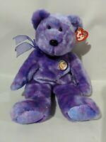 """TY Beanie Baby Buddy CLUBBY IV - 13""""Teddy Bear"""
