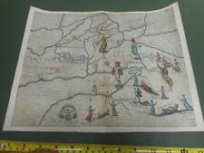 More details for 100% original cambridgeshire ely  map by m drayton polyolbion c1612 scarce